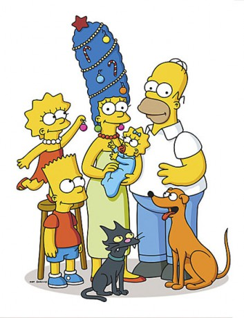 ... .cz - Fotoalbum - Simpsonovi - Simpsonovi - Simpsonovi-Vánoce